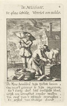 Caspar Luyken   Metselaar, Caspar Luyken, Jan Luyken, Jan Luyken, 1694  