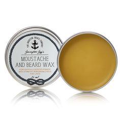 Cudownie pachnący wosk, który pomoże Ci ułożyć brodę i wąsy w nienaganny sposób.