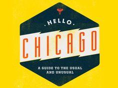 Hello Chicago  by Mike McQuade #logo