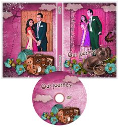Wedding DVD Cover Template Psd Free Download