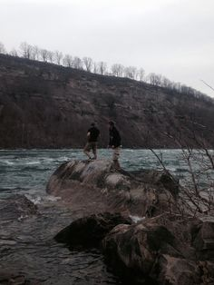 Silly boys playing by the rapids Boys Playing, Earth, Mountains, World, Nature, Travel, The World, Voyage, Viajes