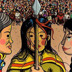 La Resistencia Indígena en imágenes – Medios Indígenas Disney Characters, Fictional Characters, Logo, Disney Princess, Art, Illustrations, Craft Art, Logos, Kunst