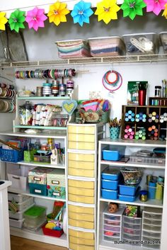 I finally got my craft room closet organized! This closet is where most of my supplies are kept, and since the bedroom is so small it's crucial for storage. It was good fortune that both of …