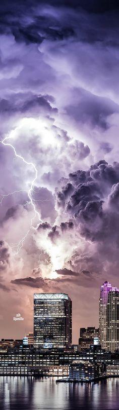 Thunderstorm - 'The Heavens Awaken' by Dan Piech