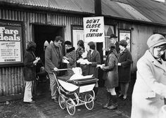 1970 campaign to save Wrexham central station.