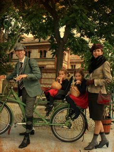 Photo Call Tweed Ride Madrid 2013.  #tweedridemadrid