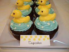 Ducky Party Treats and Decor