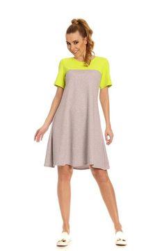 Lemoniade luźna sportowa letnia sukienka http://www.planetap.pl/sukienki-c-1_6.html