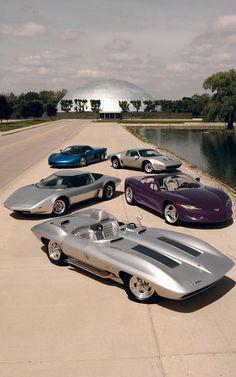 Corvette Concept's at GM Tech Center