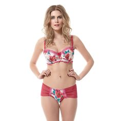 50bd99de46 Tutti Rouge Betty Kiss And Tell Bloom Padded Balcony Bra