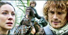 Jamie and Claire #Outlanderfinale #jamiefraser #clairefraser #highlander…