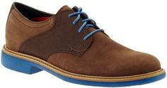 Men's Spring Fashion: Cole Haan Great Jones Saddle - Just the right pop of color in a shoe
