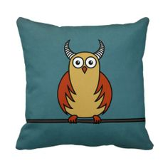 ==>>Big Save on          Funny Cartoon Owl With Horns Throw Pillow           Funny Cartoon Owl With Horns Throw Pillow This site is will advise you where to buyDiscount Deals          Funny Cartoon Owl With Horns Throw Pillow Review from Associated Store with this Deal...Cleck Hot Deals >>> http://www.zazzle.com/funny_cartoon_owl_with_horns_throw_pillow-189359394755721073?rf=238627982471231924&zbar=1&tc=terrest