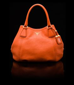 #Orange #Prada - Beautiful Must for Fall be-jewel.com