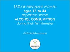 18% of pregnant women ages 15 to 44 reported some alcohol consumption during their first trimester. #AlcoholAwareness  http://fasdprevention.wordpress.com/2014/03/19/alcohol-use-during-pregnancy-in-the-united-states/    #AlcoholAwareness