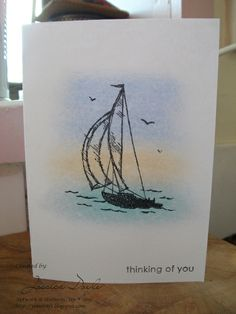 Stampin+Up+Masculine+Birthday+Cards | ... Crafts: Stampin' Up! Sail Away and I create masculine birthday cards