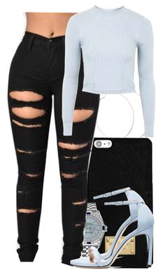 """""""Untitled #5866"""" by rihvnnas ❤ liked on Polyvore featuring MICHAEL Michael Kors, Rolex, Topshop and Stuart Weitzman"""