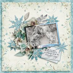Silver Serenade kit by Silvia Romeo http://www.thedigichick.com/shop/Silver-Serenade-Kit.html Photos courtesy of Marta Everest Photography