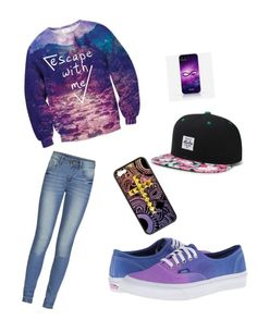 Sapiffy by jordanfashion14 on Polyvore featuring polyvore, fashion, style, ONLY and Vans