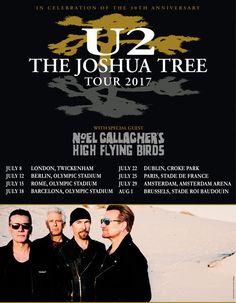 GoRockfest.Com: Noel Gallagher's High Flying Birds Tour Dates 2017...