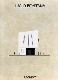 ATELIER RUE VERTE , le blog: Architecture / A quoi ressemblerait une maison créee par Dali, Mondrian ...?