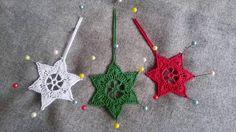 Jak zrobić gwiazdki szydełkiem - Wzór 2