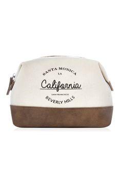 5€ Primark - Bolso blanco con eslogan de California