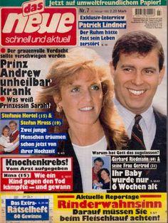 """""""das neue"""" (Nr.7 vom 11.2.1995) / Fergie & Andrew"""