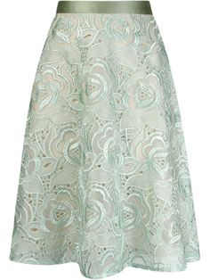Vitorino Campos Embroidered A-line Skirt - Destination Brazil - Farfetch.com