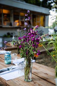 Wildflowers | Eden East Restaurant at Springdale Farms | Austin, TX | Elizabeth Winslow for Camille Styles