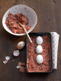 Rezept: Falscher Hase - Eier und Hackfleisch