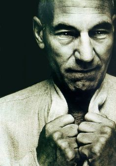 Patrick Stewart... Whats the opposite of a pedophile? Because I want to do some dirty stuff to this old man