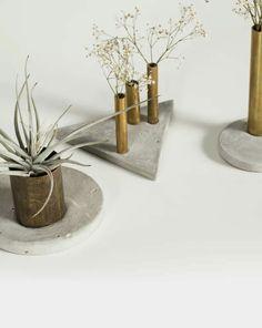 Vasos Refugo #vasos #cimento #plantpot