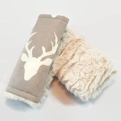 Deer Car Seat Strap Covers, Car Seat Straps, Gray and White, Faux Fur, Strap Covers, Rustic Car Seat, Woodland Baby Boy, Car seat boy by TeaHouseStudio on Etsy https://www.etsy.com/listing/465055859/deer-car-seat-strap-covers-car-seat