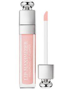 Dior Makeup, Makeup Cosmetics, Beauty Makeup, Dior Beauty, Makeup Lips, Dior Addict, Plumping Lip Gloss, Dior Lip Plumper, Dior Lip Gloss