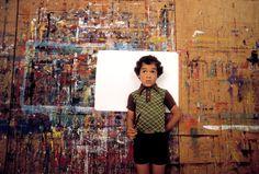 An art class, San Francisco, 1978 David Alan Harvey Magnum Photos, Color Photography, Street Photography, David Alan Harvey, San Francisco Art, Diane Arbus, William Eggleston, Face Characters, Illustrations