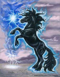 """thunder"" bella sara treasures series"