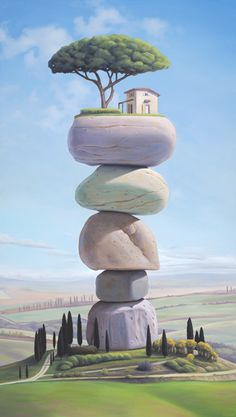 Magic Realism Paintings by Paul Bond
