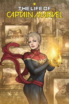 Variant cover art by Sana Takeda for 'The Life Of Captain Marvel' published July 2018 by Marvel Comics Marvel Comics, Marvel Heroines, Ms Marvel, Marvel Art, Mundo Marvel, Female Comic Characters, Marvel Comic Character, Marvel Universe, Star Trek