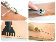 Instrumentos para couro