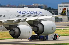 South African Airways Airbus A340-642 ZS-SND (23357) by Thomas Becker, via Flickr