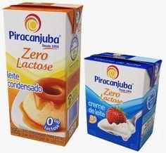 Cozinha Simples da Deia: Piracanjuba apresenta primeiro leite condensado e creme de leite UHT zero lactose do mercado brasileiro