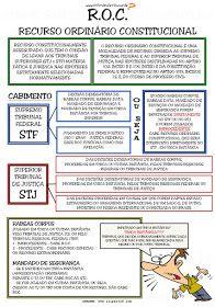 """RECURSO ORDINÁRIO CONSTITUCIONAL RESUMO ELABORADO COM BASE NO ARTIGO """"RECURSO ORDINÁRIO CONSTITUCIONAL"""" DE BENEDITO EUGÊNIO ..."""