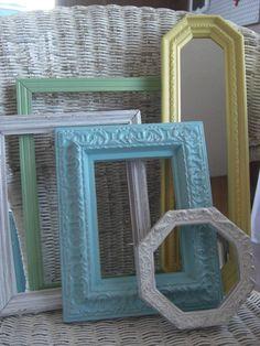 pastel frames for canvas photos