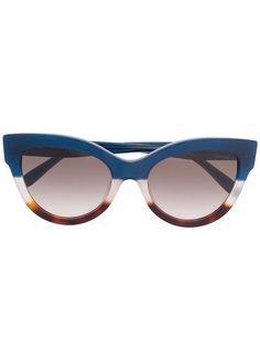 Mulberry Christy Cat-Eye Sunglasses RS5408000Z864 Blue   Farfetch Cat Eye Sunglasses, Eyewear, Lenses, Women Wear, Classic, Blue, Accessories, Derby, Eyeglasses
