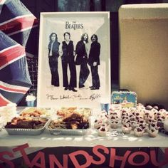 A Beatles themed birthday party? YES, please!