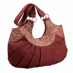 Jacquard Tracery Bag