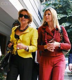 PRINCESS MAXIMA OF NETHERLANDS IN ARGENTINA