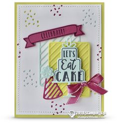Stampin by the beach stamp n hop april blog hop birthday cards retiring lets eat cake card from celebration time stamps stampin up demonstrator tami bookmarktalkfo Images