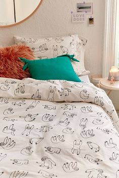 Sloth bedding - Got for the spare room. Eeee ♡